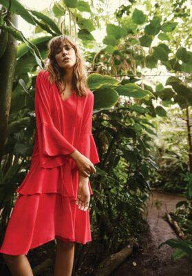 rode jurk